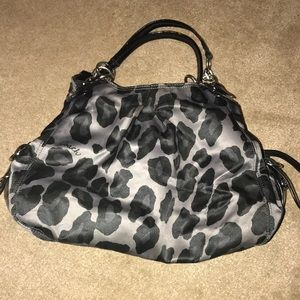 Handbags - Authentic Coach Leopard Print Bag